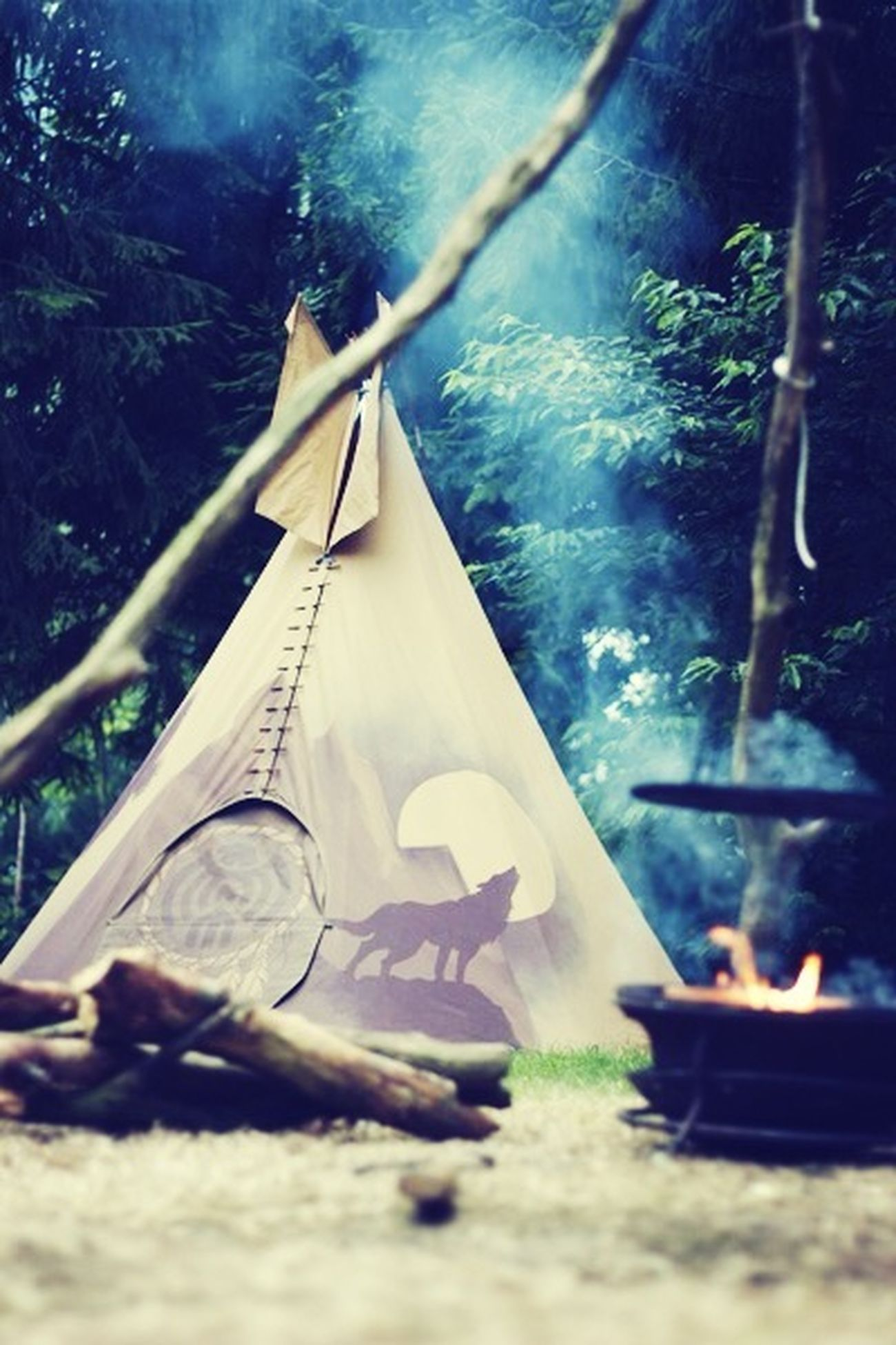 My design on a festipi-tent by tessartdesign Tessartdesign Art Festipi