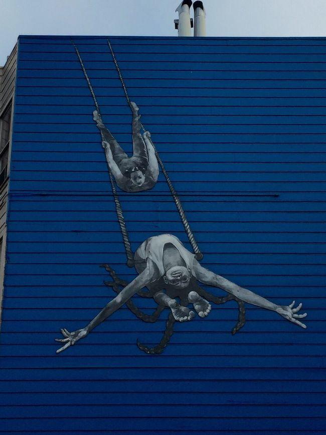 Streetart Street Art Street Art/Graffiti Blue