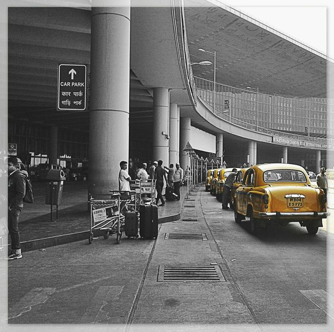 Splash Kolkata Yellow Cabs Hanging Out Popular Photos Travel Photography Abstractions In Colors Wanderlust Travelphotography Incredible India Monochrome B&W Portrait Blackandwhite Photography