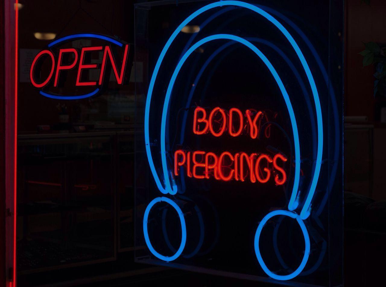 Beautiful stock photos of body piercing, Atherstone, Black Background, Blue, Body Piercing