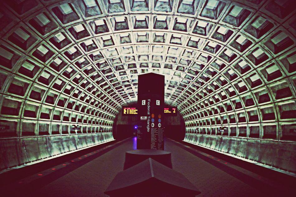 Subway Station Underground Washington DC