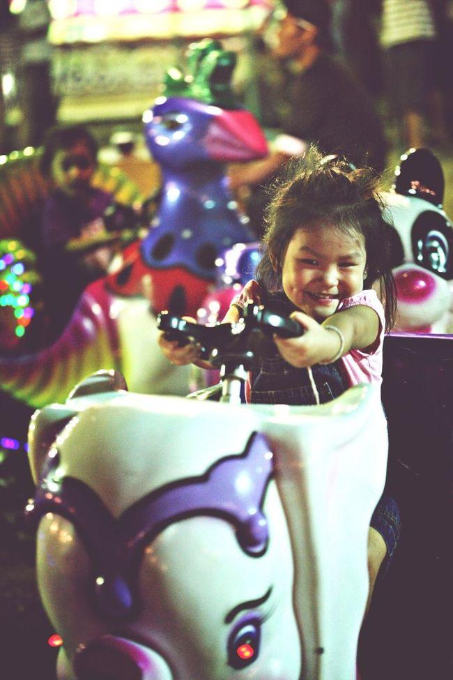 Temple fair. Children Streetphotography Nightphotography Happy