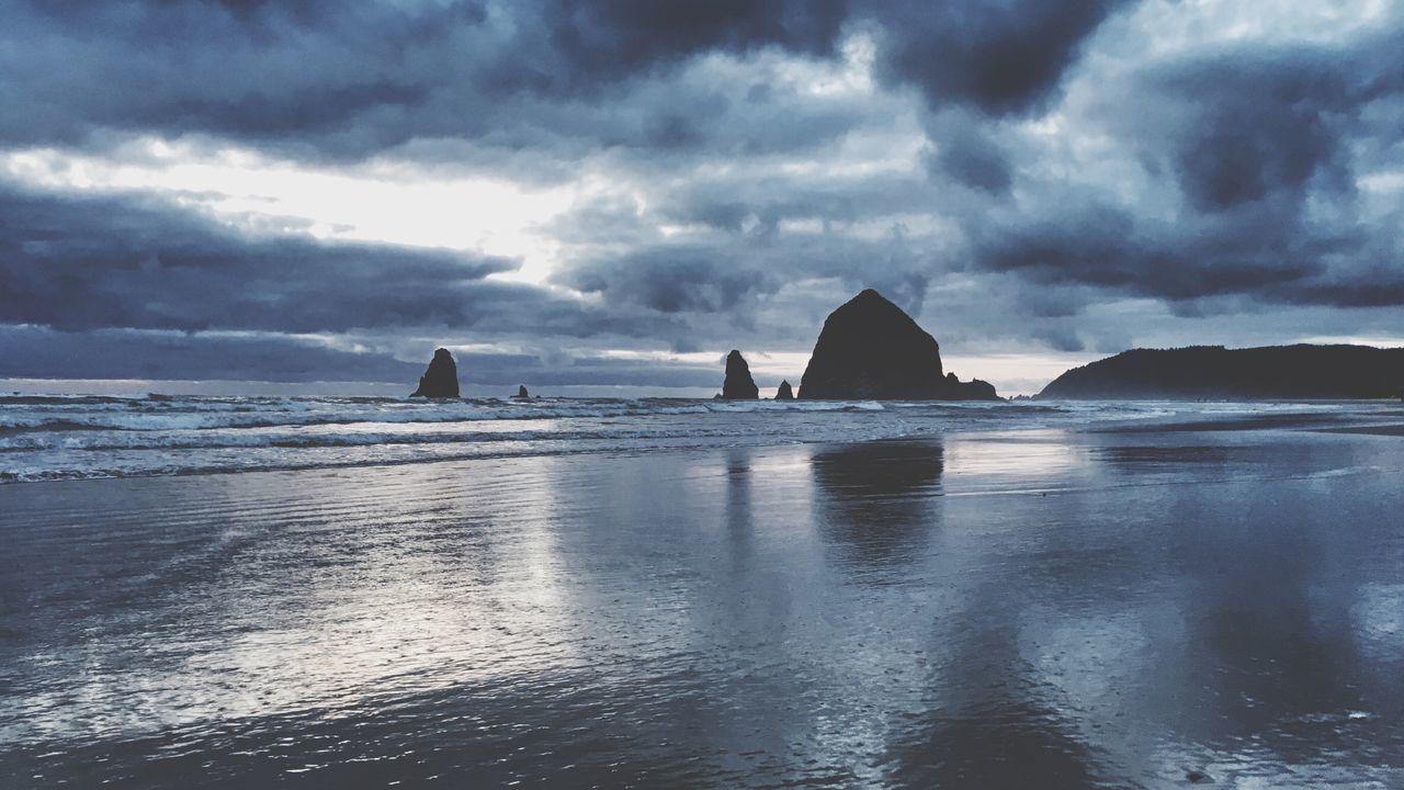 Hello Oregon Goonies Landscape Ocean Sky