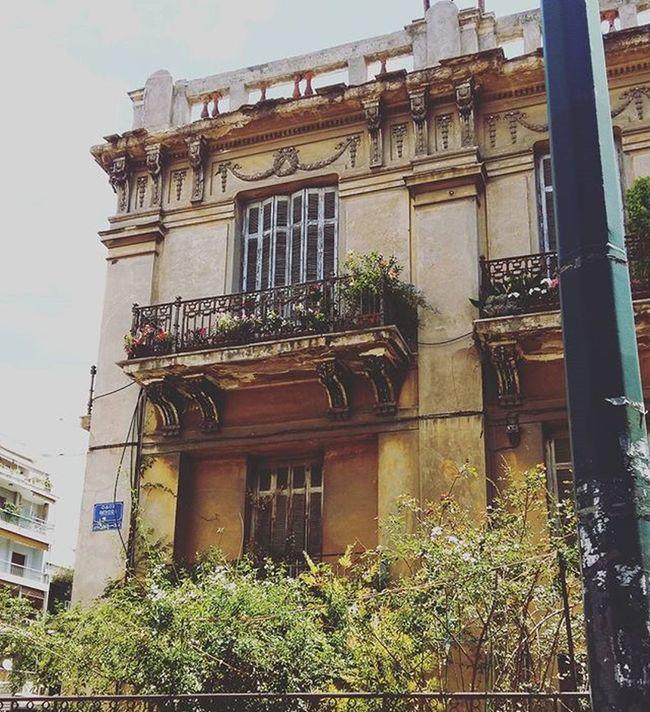 Βόλτα στην πόλη 🏣🌁 Town Old Classic Building Oktober2015