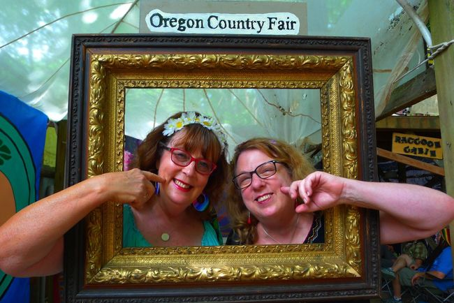 Here Belongs To Me Welcome to Eugene Oregon home of the Oregon Country Fair . Two old Hippies gone straight take a walk down, my Sister ❤ and me! The Essence Of Summer- 2016 EyeEm Awards Portraitist-2016 Eyeem Awards People And Places People And Art
