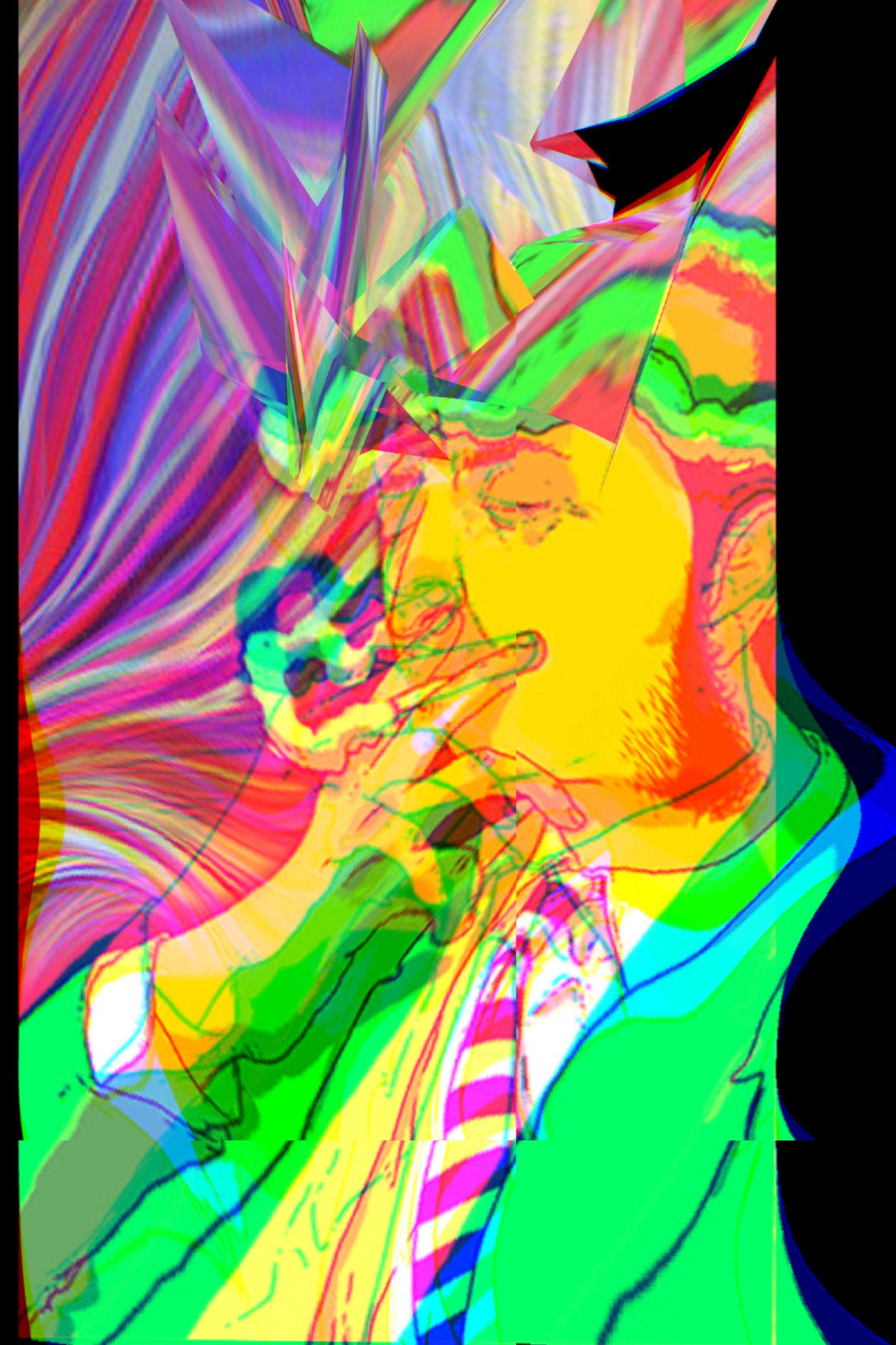 Photographic Approximation Facial Experiments OpenEdit Psyhosoldiers Smoking Yerba...