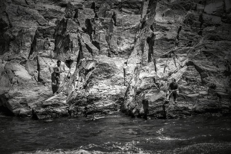 No People Day Outdoors Nature Greatfallspark Great Falls, Maryland Black & White Blackandwhite Black And White Nature Nature_collection Nature Photography Fishing Fisherman Backgrounds