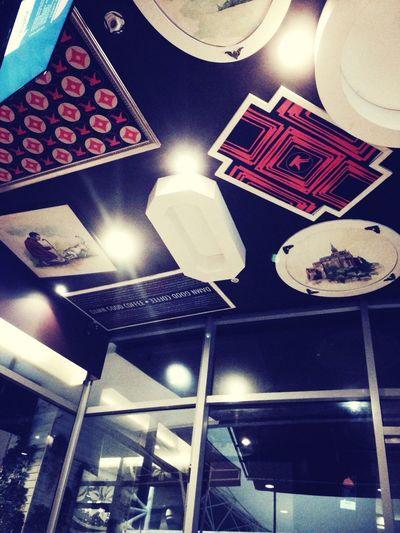 Sky in dinning restaurant GandariaCity Nanny's Pavillon