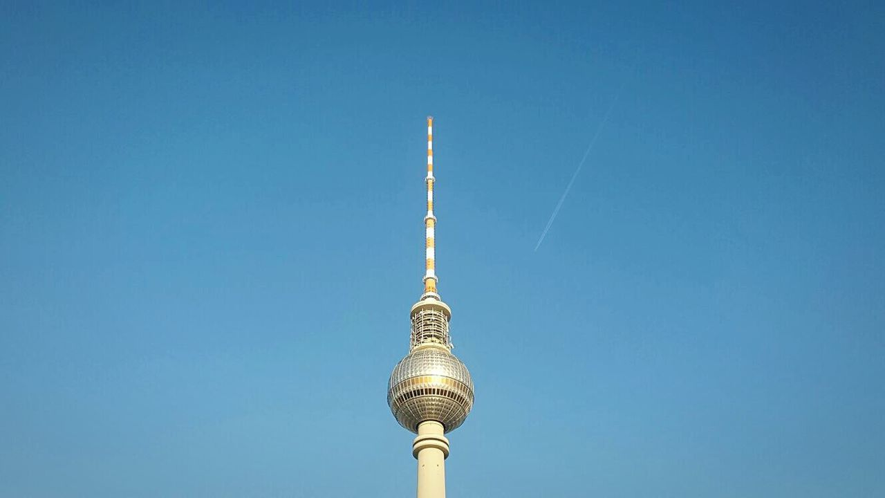 Tower Sky Day Outdoors Berlin Alexanderplatz Fernsehturm Minimalism