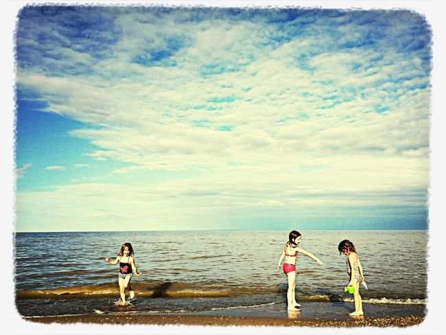The EyeEm Facebook Cover Challenge Beach Water Fun