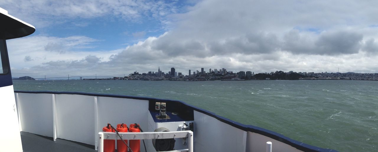 Goodbye San Francisco Cityscapes Bay Ship Skyline Seeing The Sights My Commute