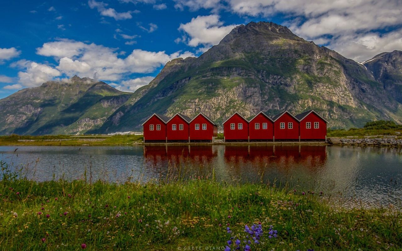 Sunndal Sunndalsøra Norway City Life Cityscapes Old Buildings Landscape_Collection City_collection Waterscape Water_collection The Essence Of Summer Eye4photography  City EyeEm Best Shots - Landscape