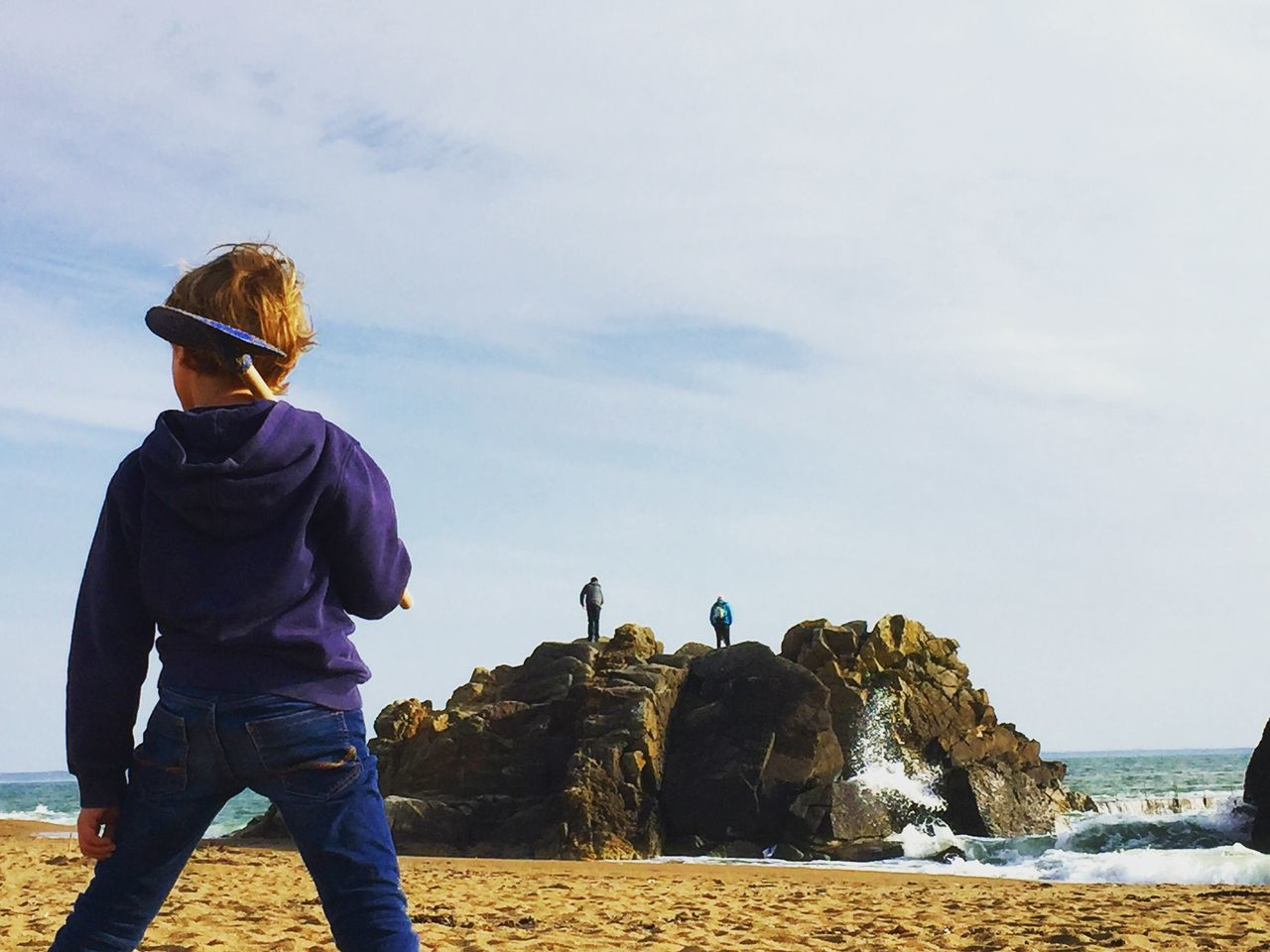 Beautiful stock photos of kinder, Beach, Beauty In Nature, Boys, Casual Clothing