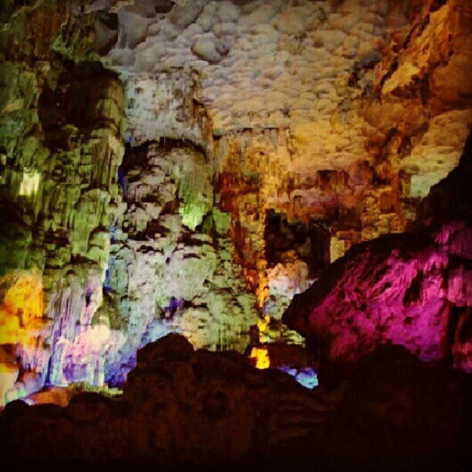 @elau79 remember this? Thien Cung Grotto Halong bay vietnam reminiscing