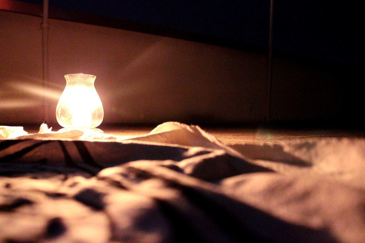 indoors, lighting equipment, illuminated, no people, electricity, close-up, night