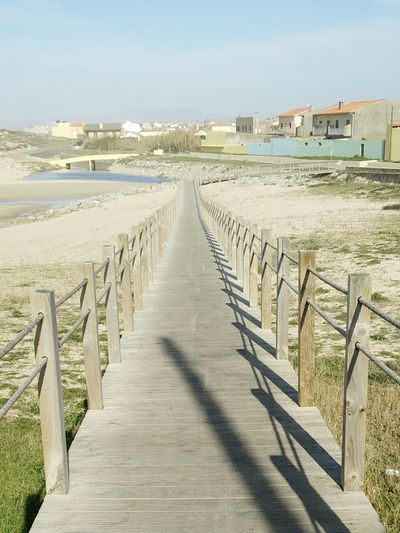 The Way Forward Sky Sand Outdoors Beach Landscape One Person Wheelchair Access People Straightforward OnePlusOne📱 Oneplusonephotography Miles Away