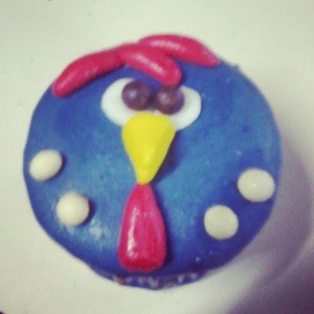 Cupcake Galinhapintadinha Delicia Gordice AniversárioDoPriminho 1aninho FamiliaLoca AmoDemais