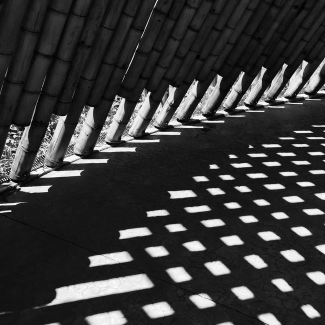 Monochrome Photography Black And White Outdoors Architecture No People Modern Dark Abstract Architectural Feature EyeEm Best Shots Monochrome _ Collection Black Background Illuminated Monochrome Colombia