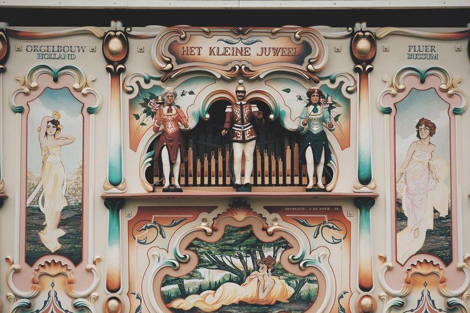 Pipe organ Steam Fair Cambridge