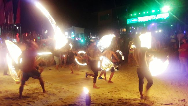 Full Moon Party Color Photography Light Up Your Life