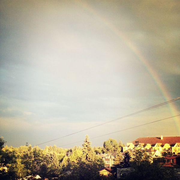 Beautiful rainbow Crazyweather