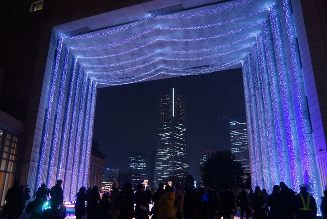 Minatomirai Landmark Landscape_photography Creative Light And Shadow Yokohama Japan EyeEm Best Shots Lights