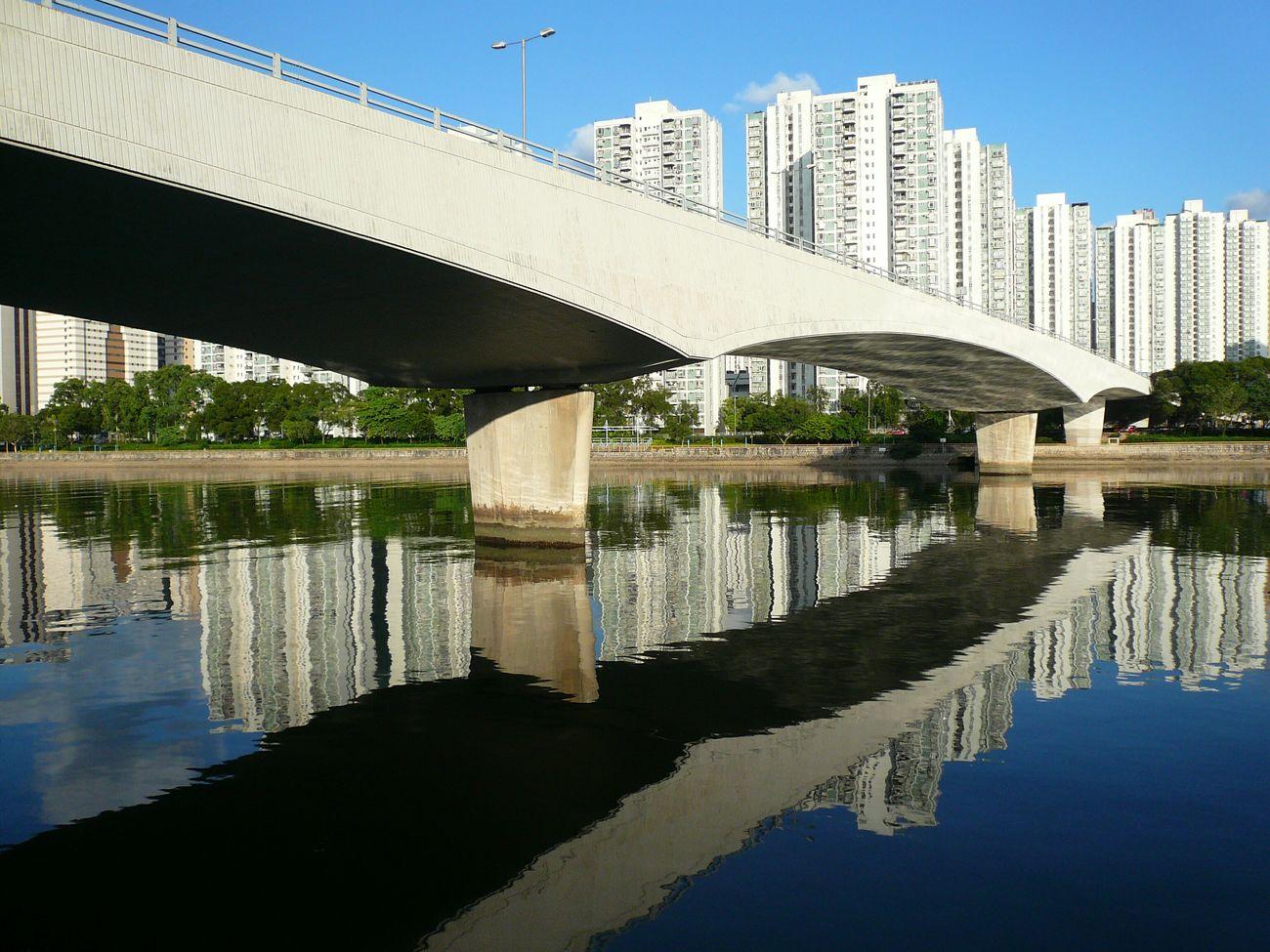 Hong Kong Shatin Bridge