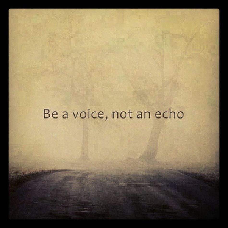 Avoice Anecho Softspoken Standup speakup louder live love inspiration
