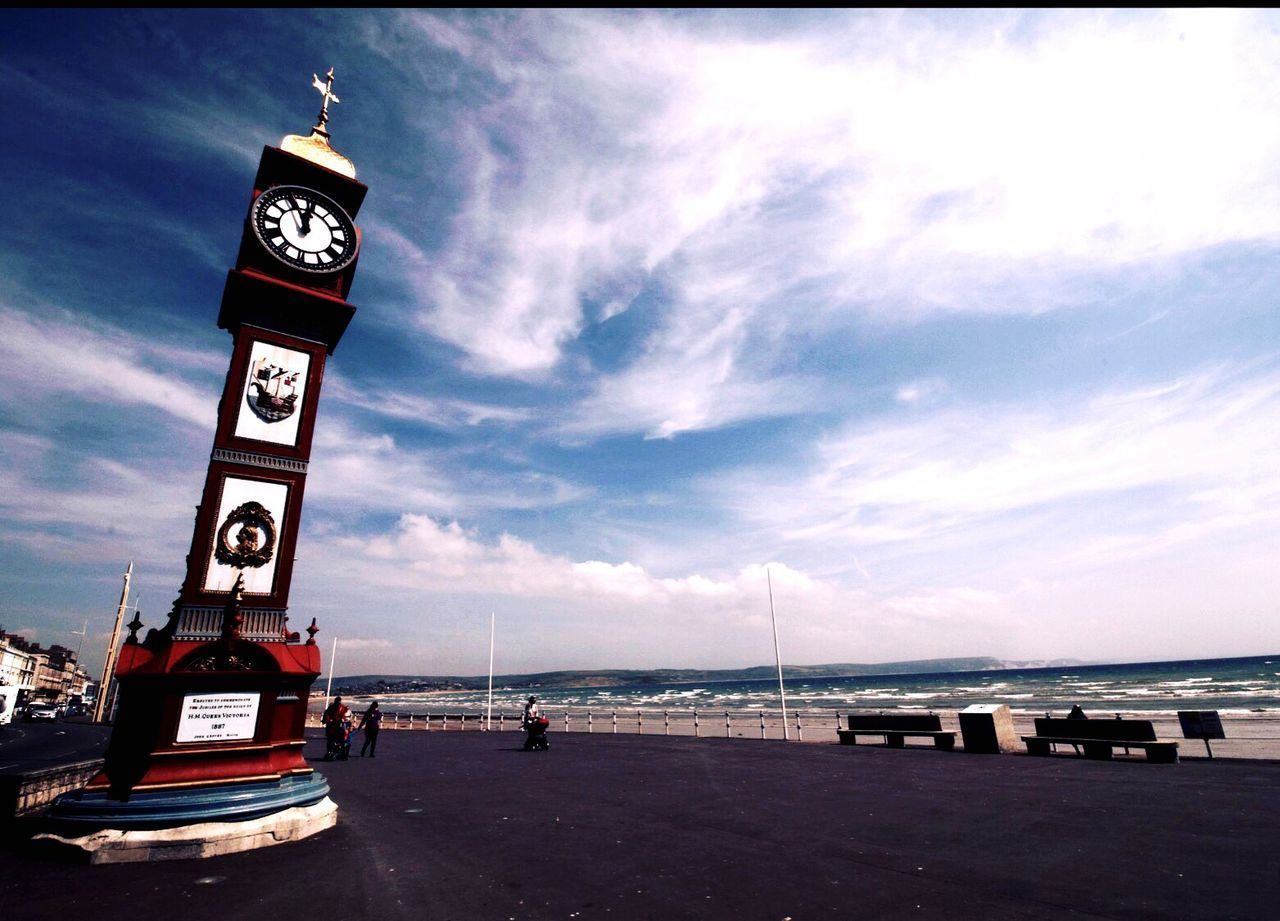 Town Clock Weymouth Clock Clocktower Weymouth Dorset Weymouth Beach Weymouth