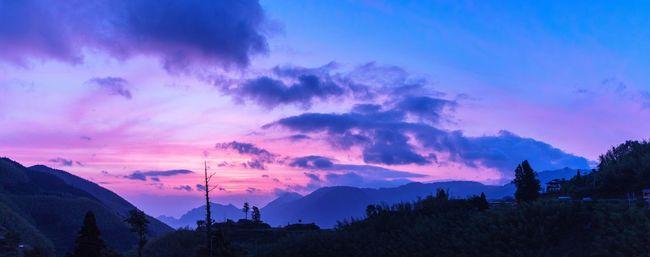 日出 云和 Titian 梯田