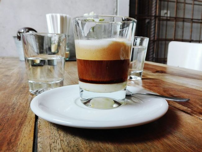 Coffee Cortado Restaurant Coffee Time Berlin Drink Hot