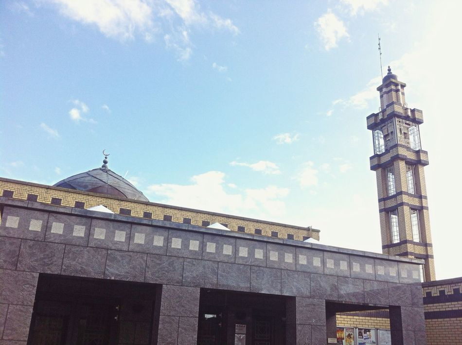Islamic Center Religion Islam Mosque Beautiful Sunny Day