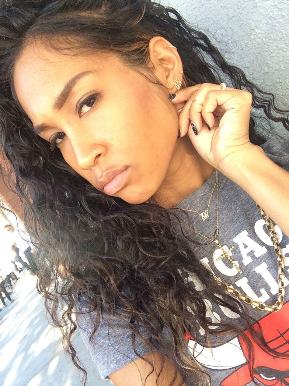 Seiko Huffman Selfie Blasian  Blasian Beauty  Mixed Girl Gorgeous Aesthetics Model Curly Hair Natural Hair