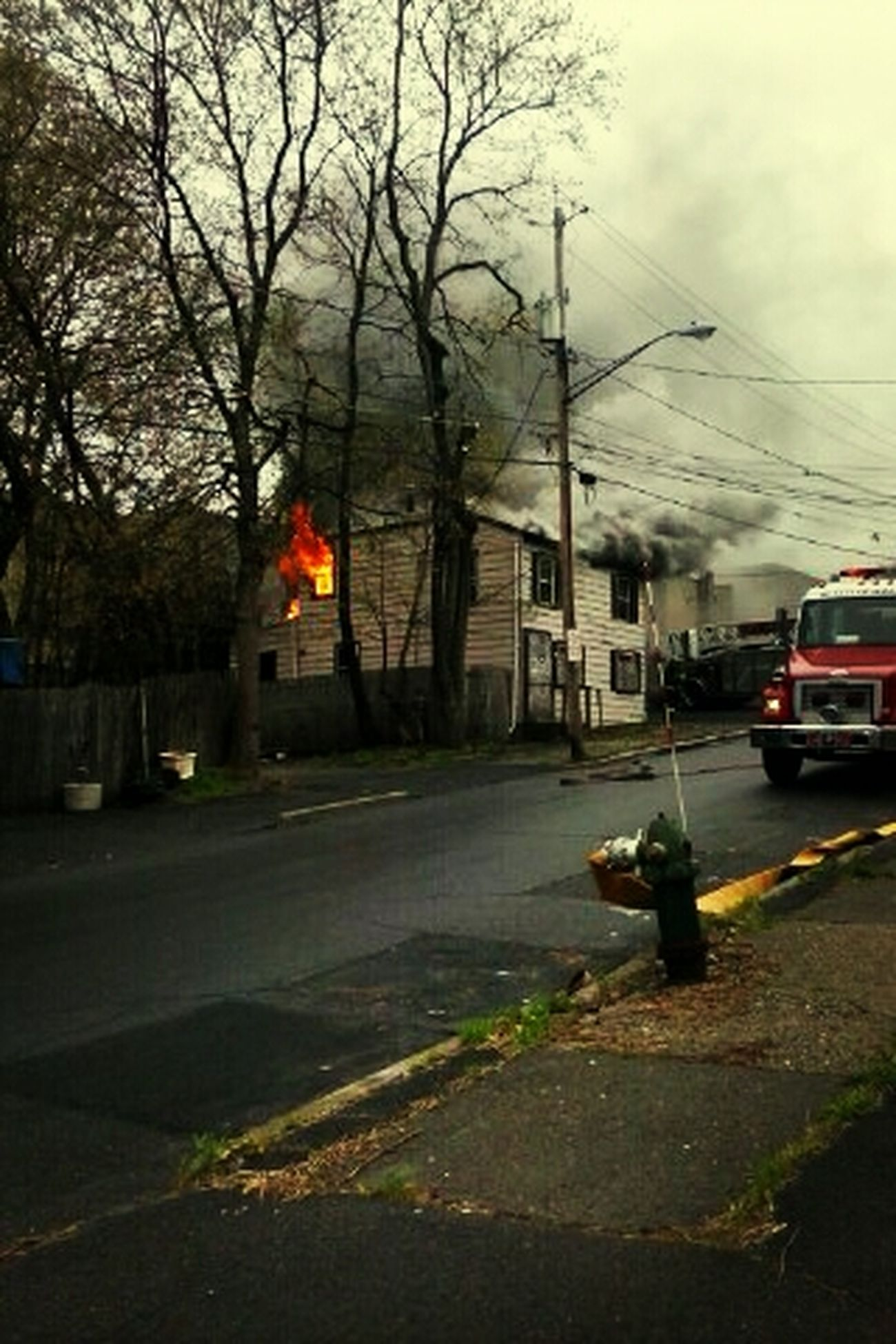 Fire Lexington And Elk Albany
