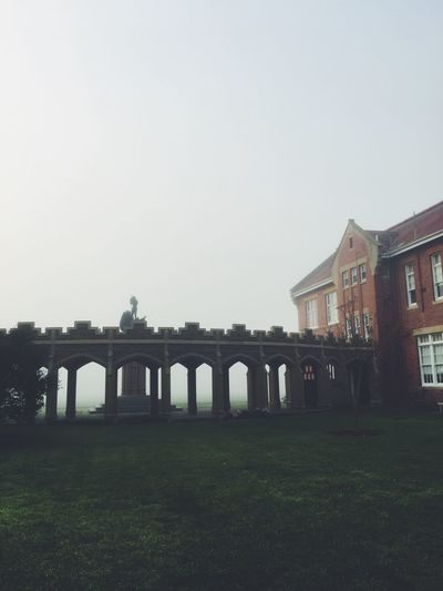 Architecture No People Tranquility Built Structure Building Exterior Copy Space Architectural Column History The Past Travel Destinations Lawn Outdoors Day Tourism Colonnade Bridge Wide Shot Façade EyeEm Selects