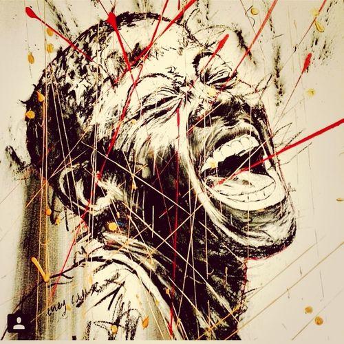 African Afrika Art Smile
