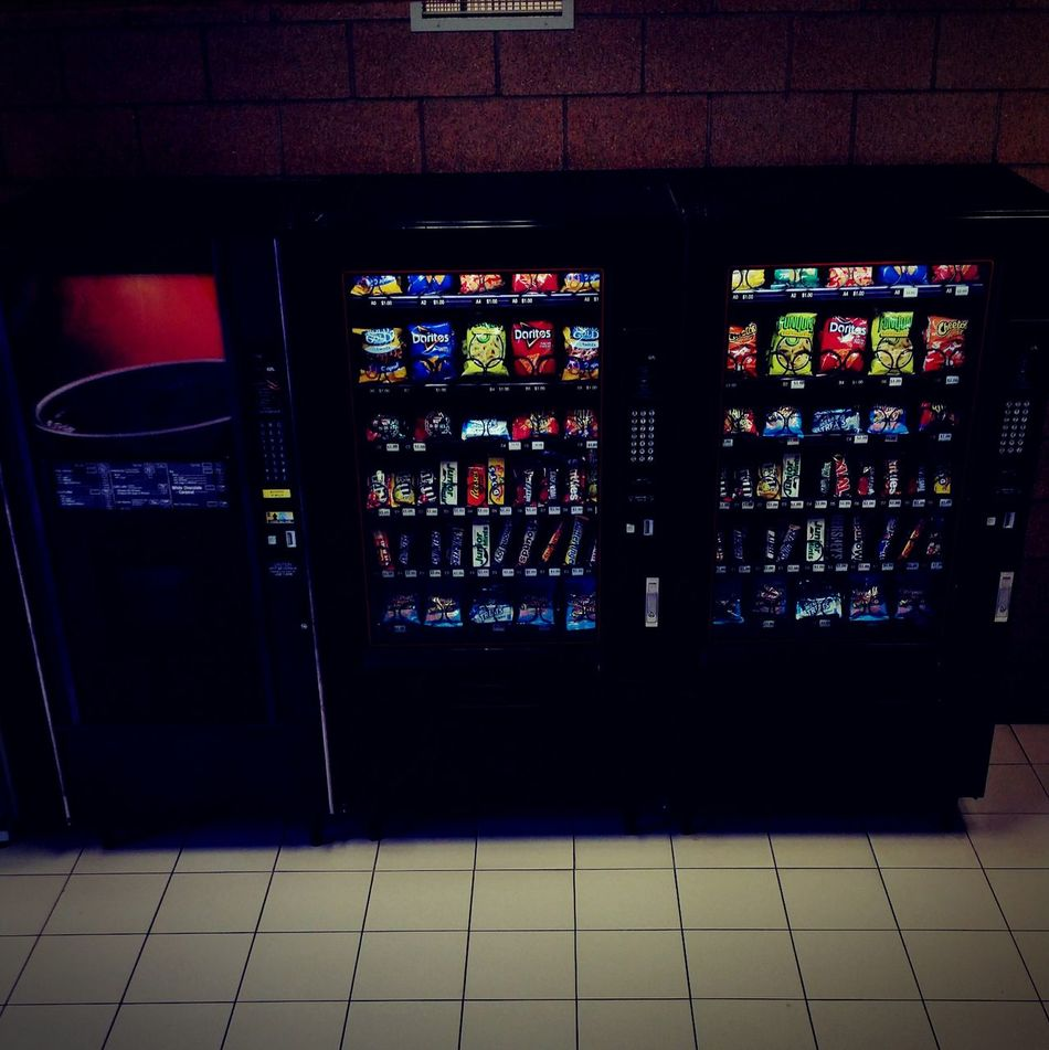Things I Like Vending Machine Rest Area Travel Photography Public Places Quater Machine View From The Top Vintage Style Stationary Check This Out Indoor Photography Minimalism Lines&Design Lines And Patterns Roadtrip Pit Stop Pee Break Voiding Void General Store Quick Shot