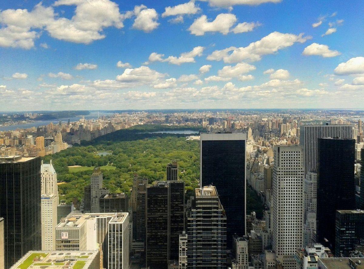 Top of the rock II Newyorkcity Manhattan Topoftherock New York Urban Landscape