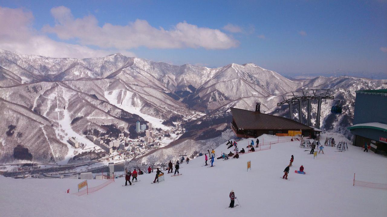 Naeba ski resort. Naeba YUZAWA Japan
