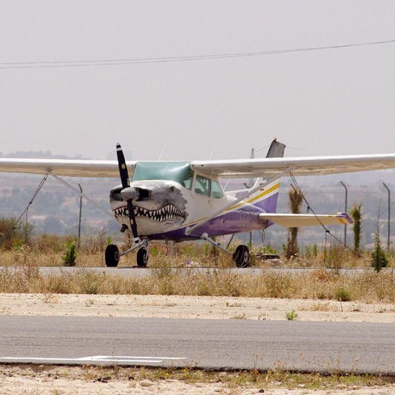 Look! Up in the sky! It's a bird! It's a plane! It's a... shark Airplane Sky Jj  Webstagram Igersspain Weloveairplanes