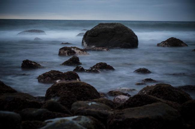 Beach Efecto Hielo Frozen Frozen Water Hielo Ice Las Canteras Beach Las Palmas De Gran Canaria Ocean Playa Rocks Rocks And Water Sea Stone Sunshine Water