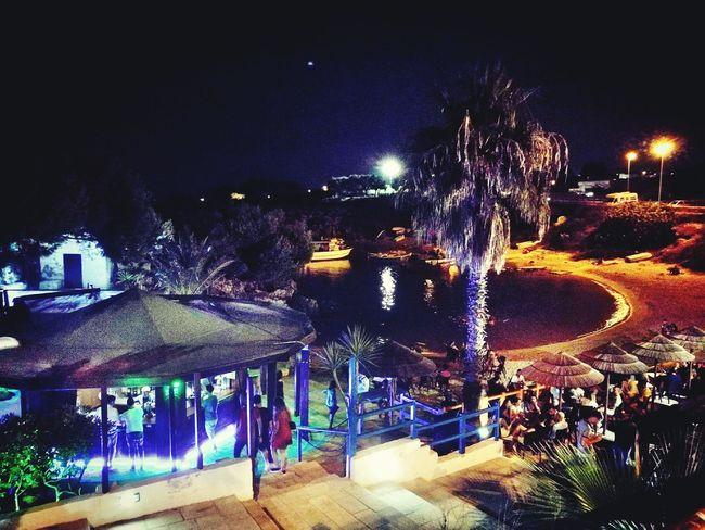 Sea Fishboat Night Vacations Moon Moonlight Friendship Music Loungebar Lounge Music Bar Italy South Italy Apúlia Puglia