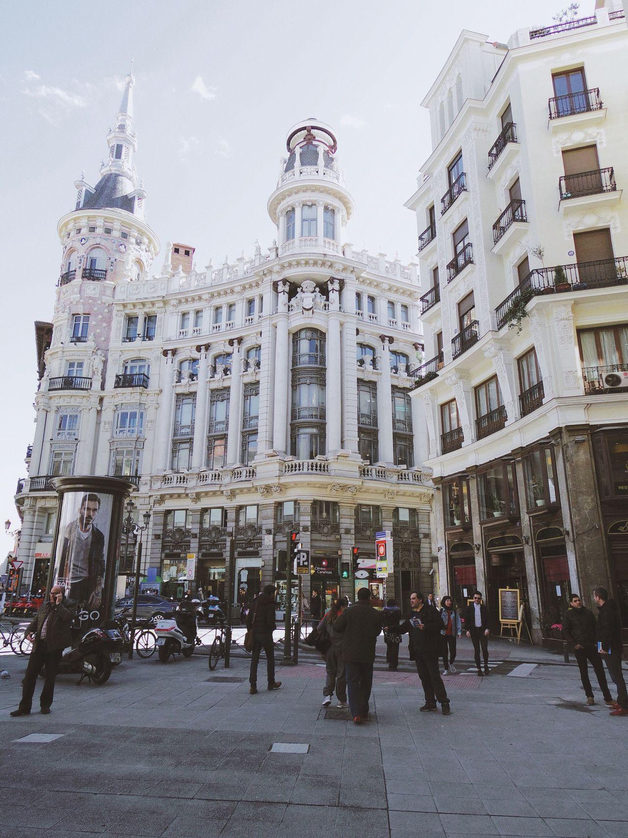 Madrid Arquitecture Arquitectura Building Edificios Fachadas Fachadas De Madrid