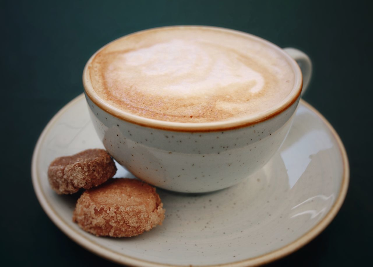 Cappuccino Close-up Coffee - Drink Coffee Cup Cokkie Cookie Cup Drink Fancy Foam Focus On Foreground Food Food And Drink Food And Drink Freshness Froth Froth Art Frothy Drink Green Latte Plate Posh Ready-to-eat Refreshment Table Wine Not Sommergefühle EyeEm Selects