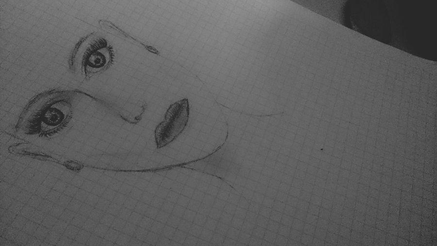 boring. Drawing Illustration Pencilart