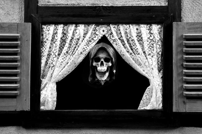 Death will come to us all Adult Adults Only Darkart Day Death Design Evil Halloween Horror Human Body Part Kidnapping Outdoors Skull Spooky