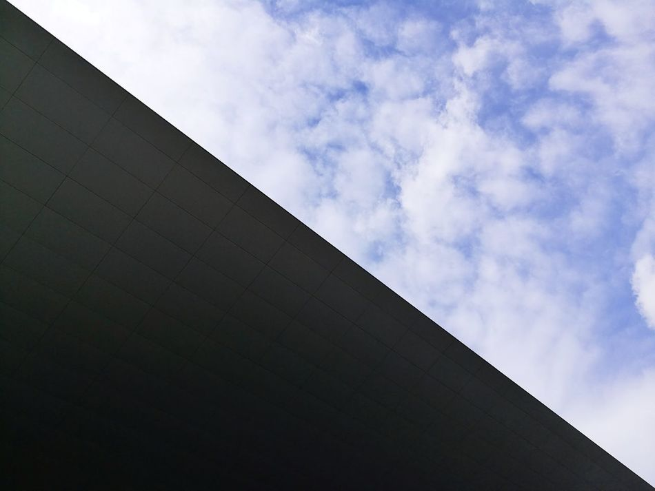 Architecture Cloud - Sky Sky Built Structure No People Separation Blue Sky Roof Roof Structure Luzern Luzern, Switzerland KKL Lucerne Blue Modern Architecture Modern Modern Art Minimalist Architecture Minimalist Minimalism Minimal