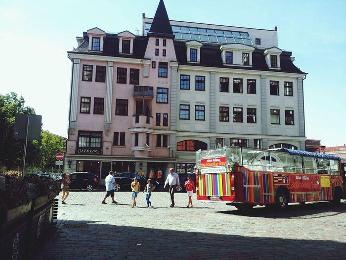 Riga Latvia City Family Trip