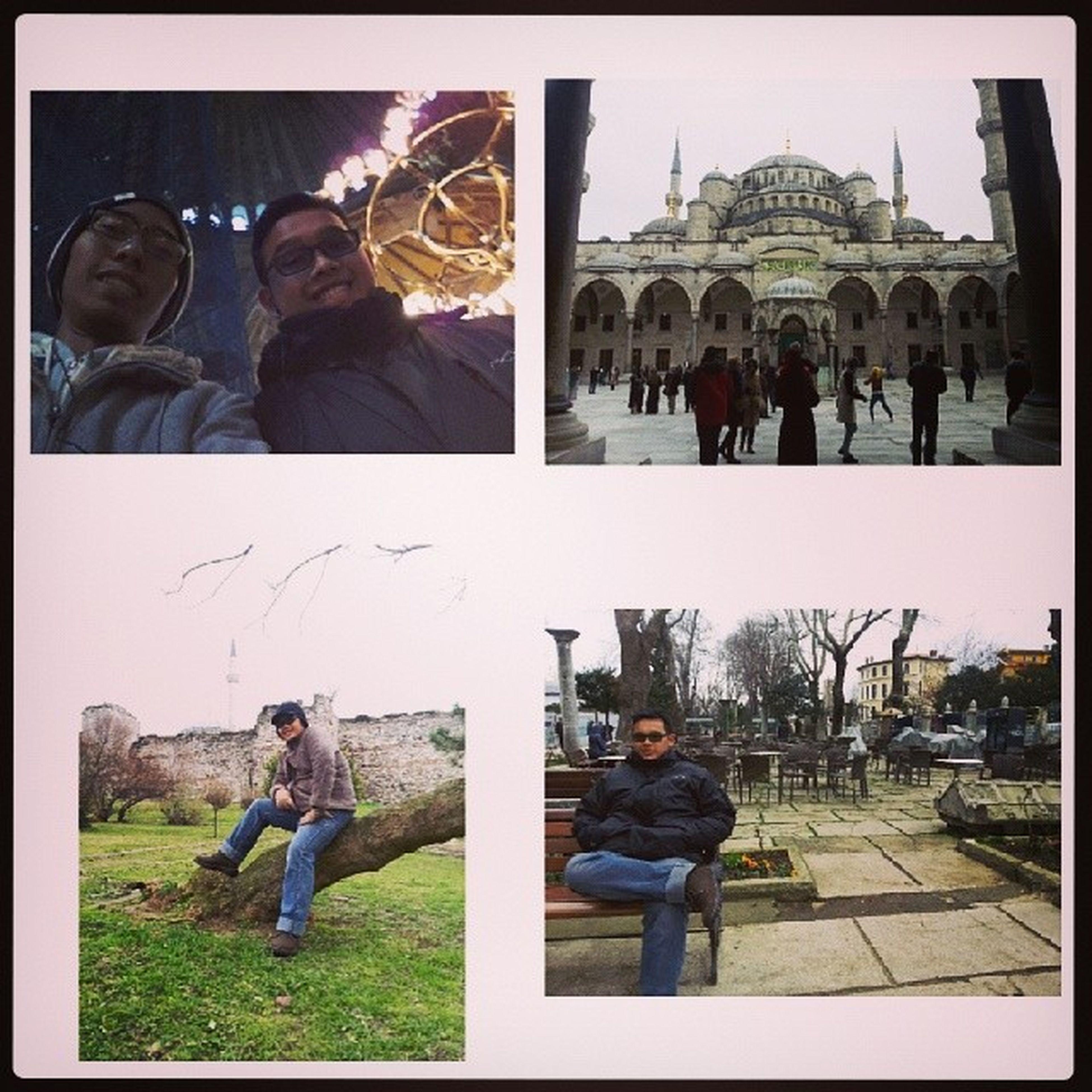 Tour Istanbul Hagiasofia Bluemosque ConstantinopleWall