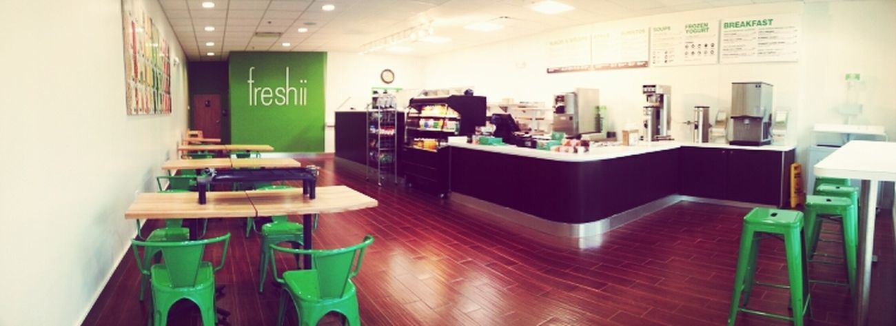 my parents' #freshii all ready!